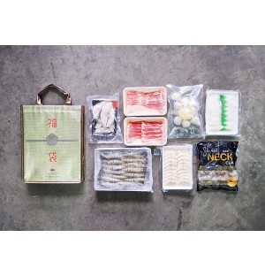 [Free ZAIRYO Cooler Bag] 材料福袋 Steamboat/BBQ Pack (for 2 to 4 pax)