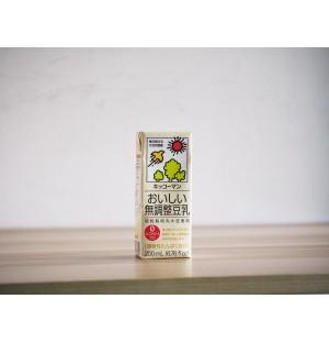 Kikkoman Soy Milk - UNSWEETENED 200ML