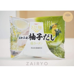 Dashimen Yuzu Shio Ramen ( Yuzu Dashi Instant Noodles)