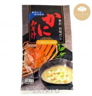 Kani Miso Soup (Crab Paste Flavoured Soup) / かに味噌汁