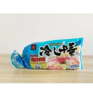 Miyakoichi Hiyashi Chuka Soy Sauce & Vinegar (Cold Ramen with soup)