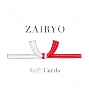 Zairyo Gift Card