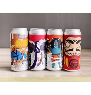 Japanese Folklore Taster Set (4 Types) CHILLED
