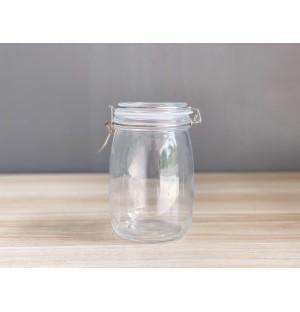 Glass Jar with Lid 1L