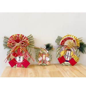 Shimekazari (4 Designs!)  / しめ飾り / Japanese New Year Straw Decor