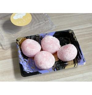 Hakuto White Peach Daifuku 4PC 白桃大福